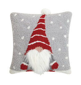 Gnome hooked pillow
