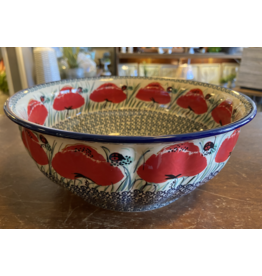 Lady bug fluted bowl f18