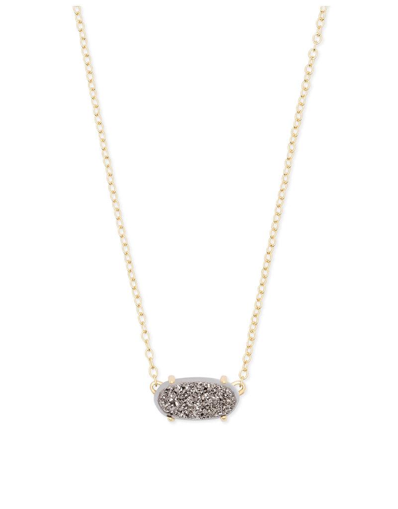 Ever necklace gold platinum drusy 4217717447