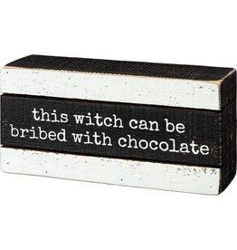 Slat Box sign - Witch Bribed 106261
