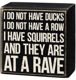 Box Sign - At A Rave 107453