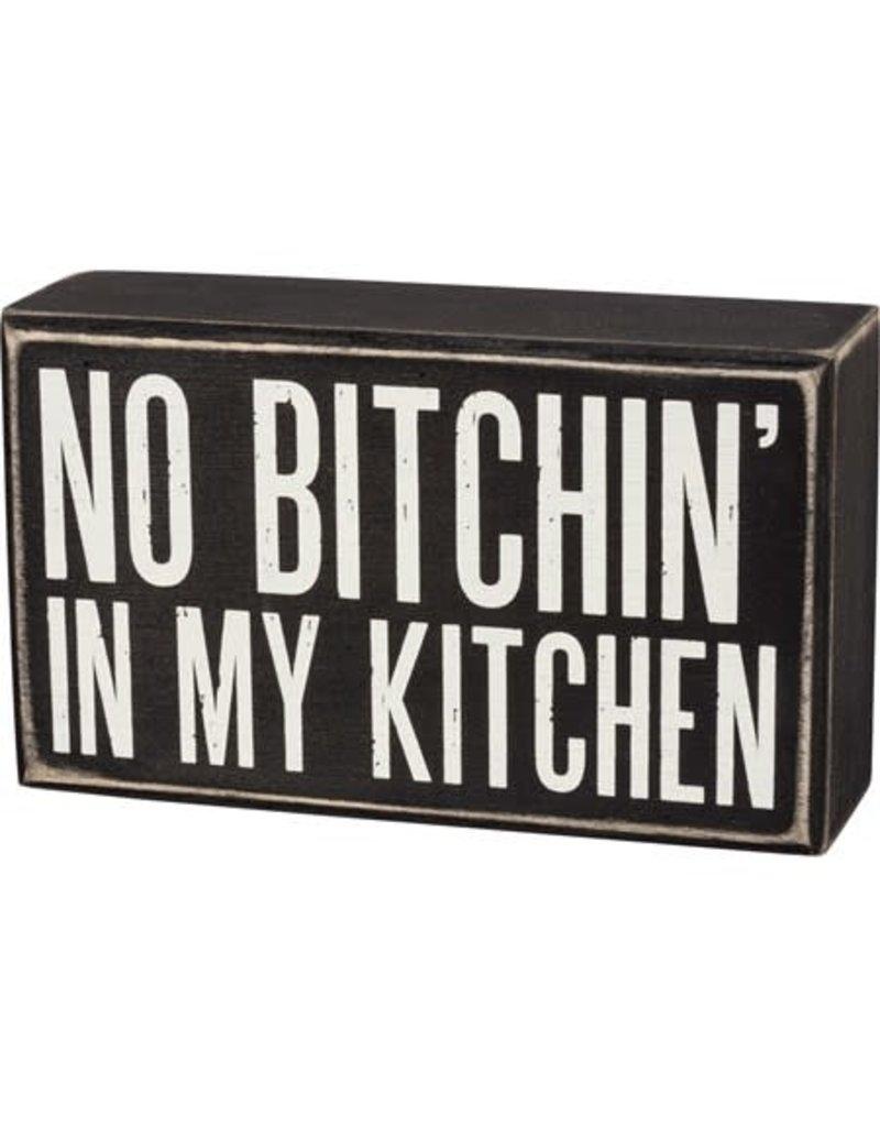 Box Sign - In My Kitchen 107575