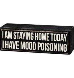 Box Sign - Mood Poisoning 107643