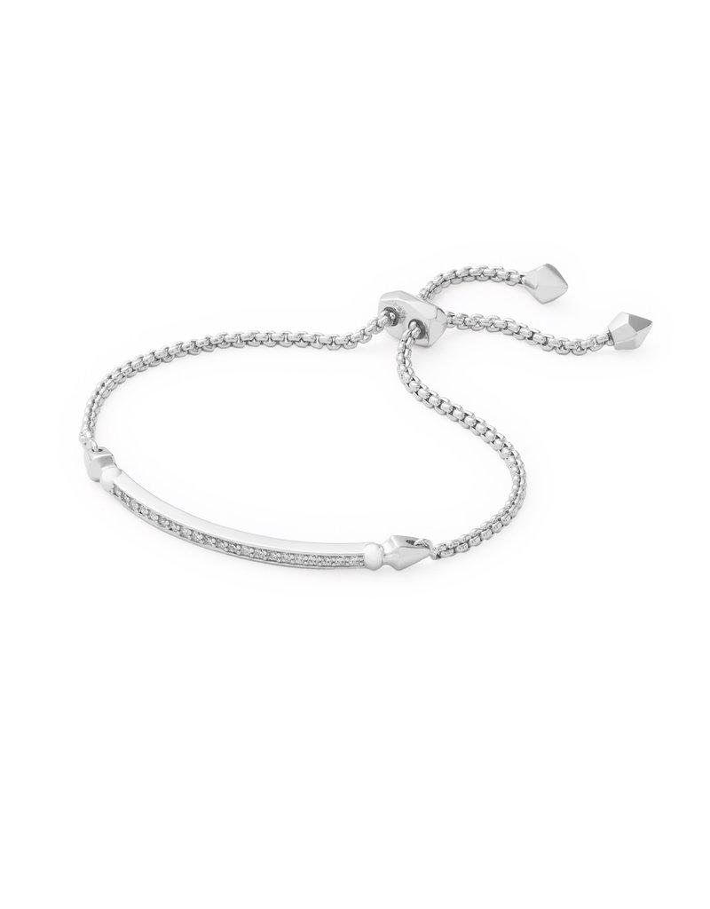 KENDRA SCOTT Ott Bracelet rhod metal white cz 4217715265