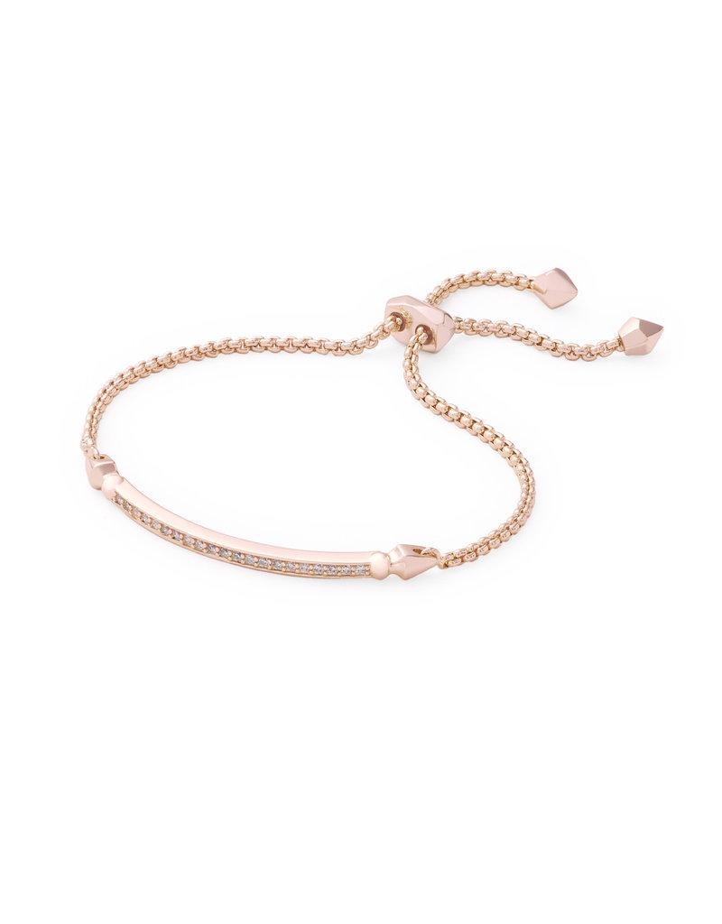 KENDRA SCOTT Ott bracelet rose gold metal white cz 4217715264