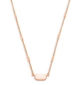 KENDRA SCOTT Fern necklace rose gold 4217715885