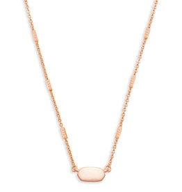 KENDRA SCOTT Fern necklace rose gold 4217715885