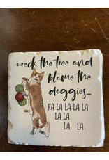 Naughty pet coaster