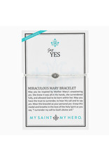MY SAINT MY HERO Say Yes! Miraculous Mary bracelet