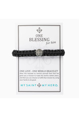 MY SAINT MY HERO One blessing for him bracelet