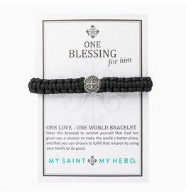 MY SAINT MY HERO One blessing for him bracelet