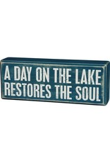 none Box Sign -  Restores Soul 31047