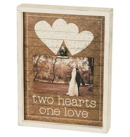 none Insert Box sign - Two Hearts 38090