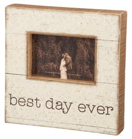 Slat Box Sign - Best Day 38094