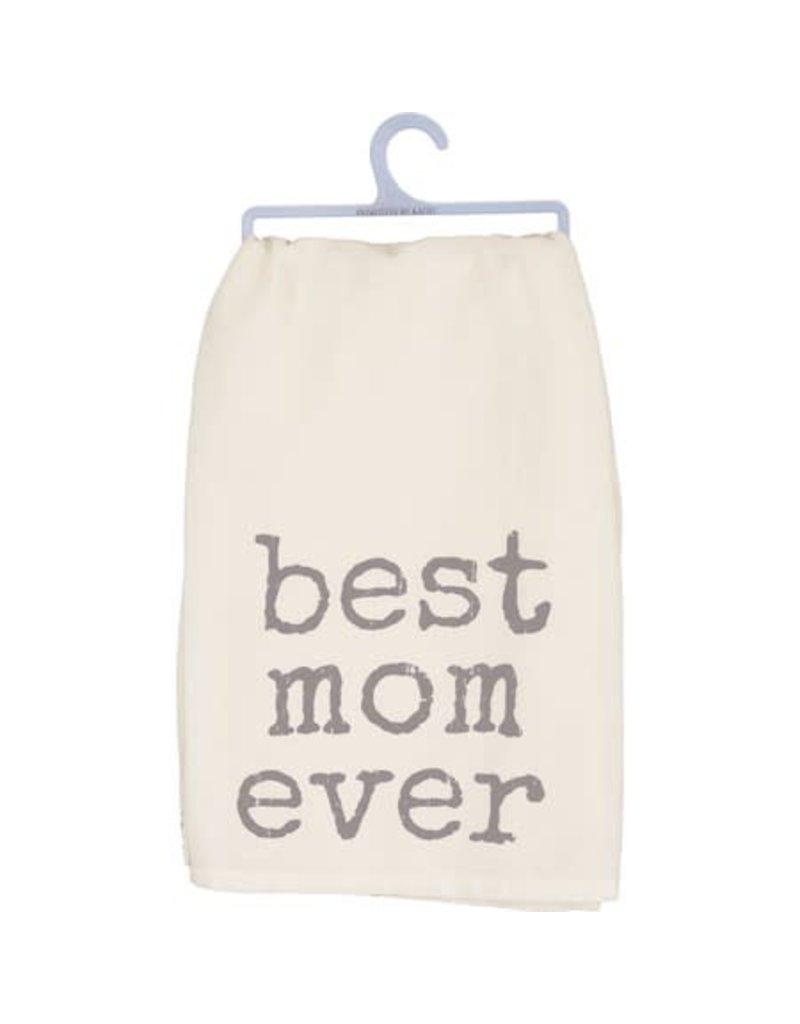 Dish Towel - Best Mom Ever 38512