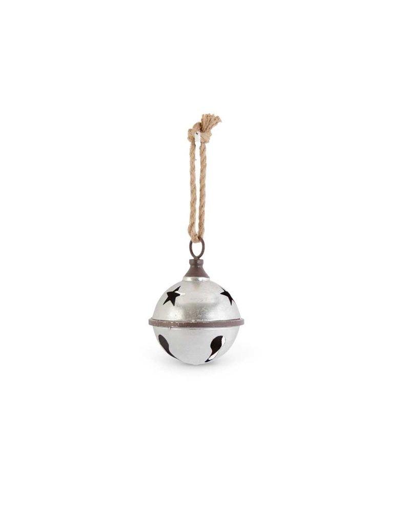 Silver jingle bell 8 in