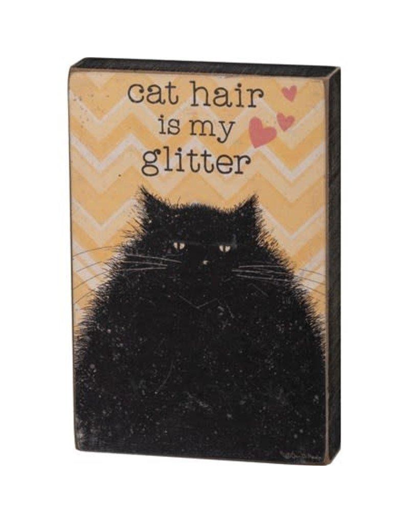 Box Sign - Cat Hair 101692