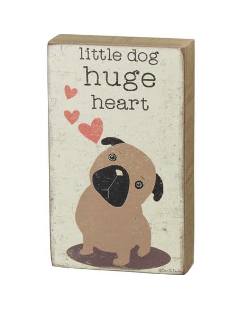 Box Sign - Little Dog 101694
