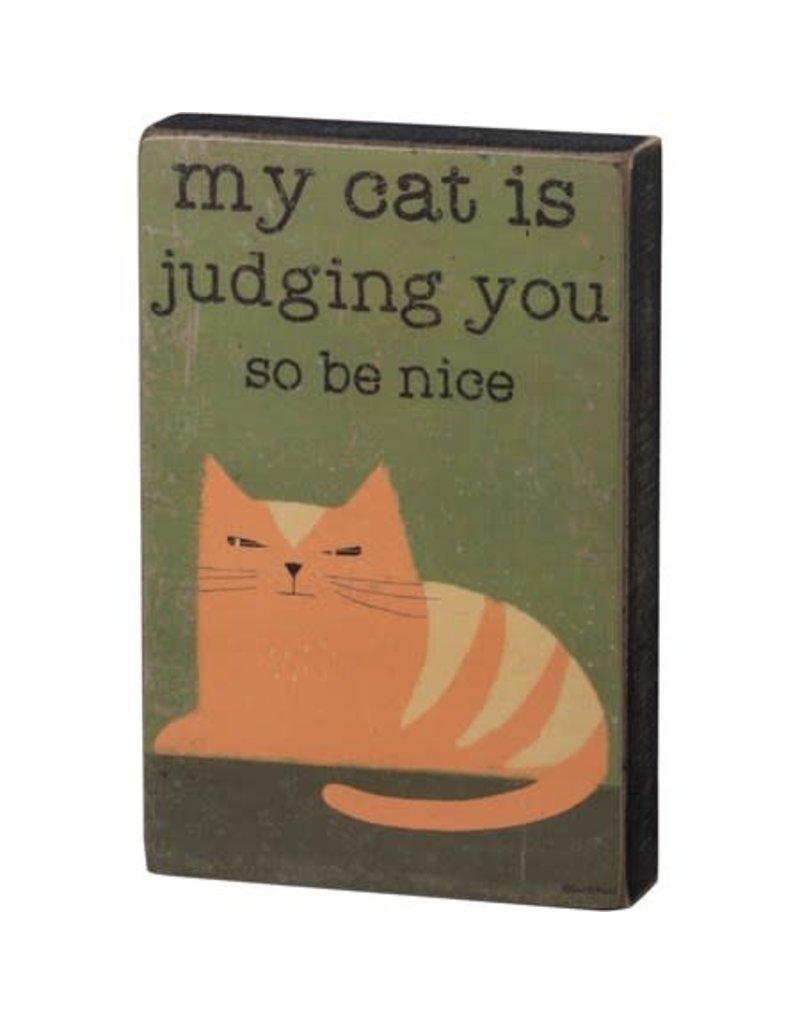Box Sign - Judging You 101697