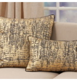 "Animal Foil Print Pillow 14""x22"" - 9917.GL1422BP"