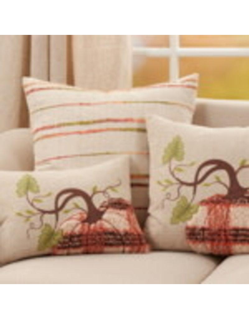 """Plaid Pumpkin Pillow 13""""x18"""" - 9520.N1318BP"""