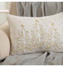 "Embroidered Christmas Tree Pillow 14""x20"" - 4126.N1420B"