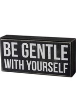 Box Sign - Be Gentle 104103