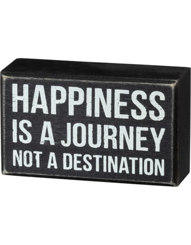 none Box Sign - Happiness 105384
