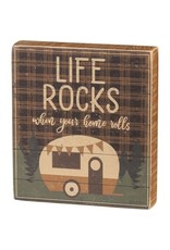 Box Sign - Life Rocks 106092