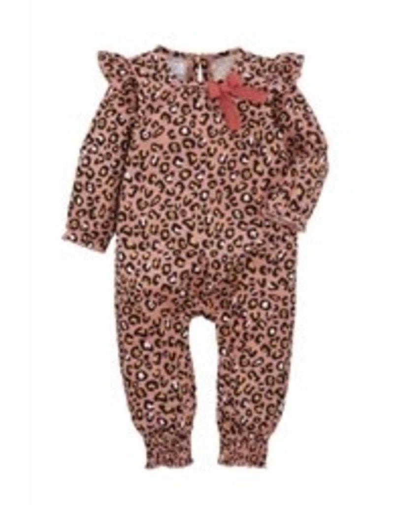 Pink Leopard Baby Bodysuit 3-6 M - 11030360
