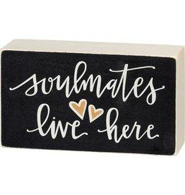 Box Sign - Soulmates 106139