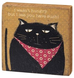 Box Sign - Sushi 106333
