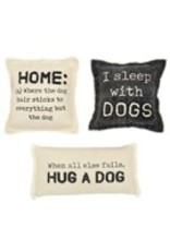 "Hug Washed Canvas Dog Pillow 7""x14"" - 41600359G"