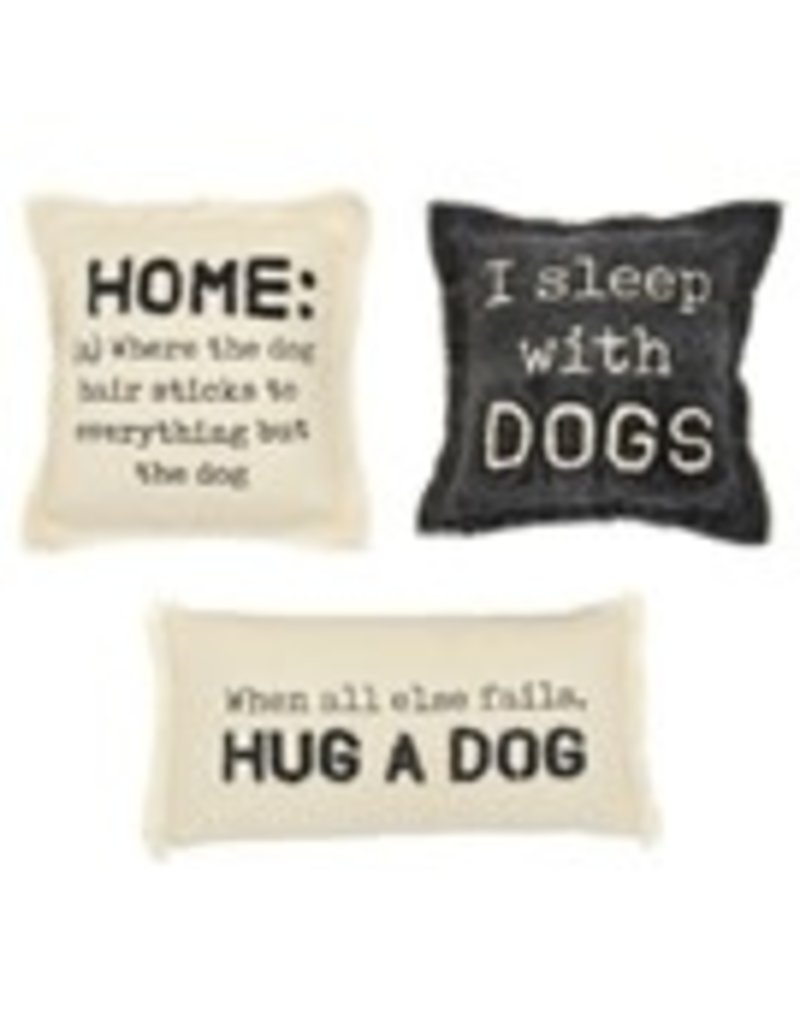 """Home Washed Canvas Dog Pillow 10""""x10"""" - 41600359H"""