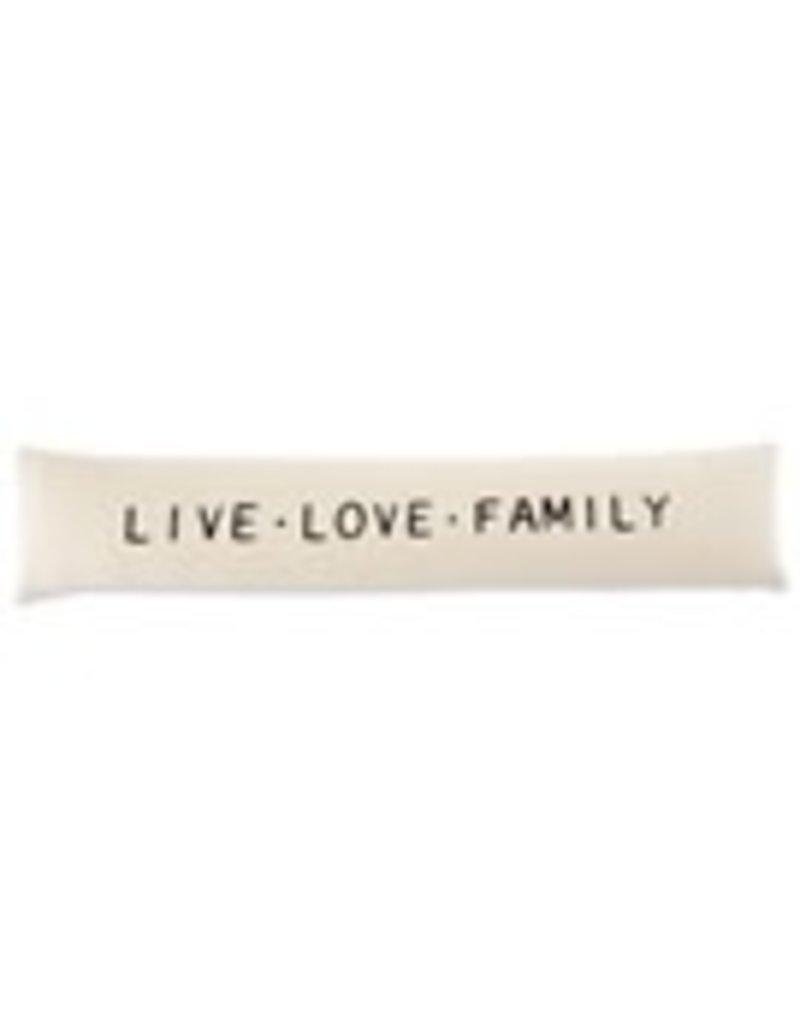 "Family Long Pillow Live-Love-Family 7""x36"" - 41600338L"