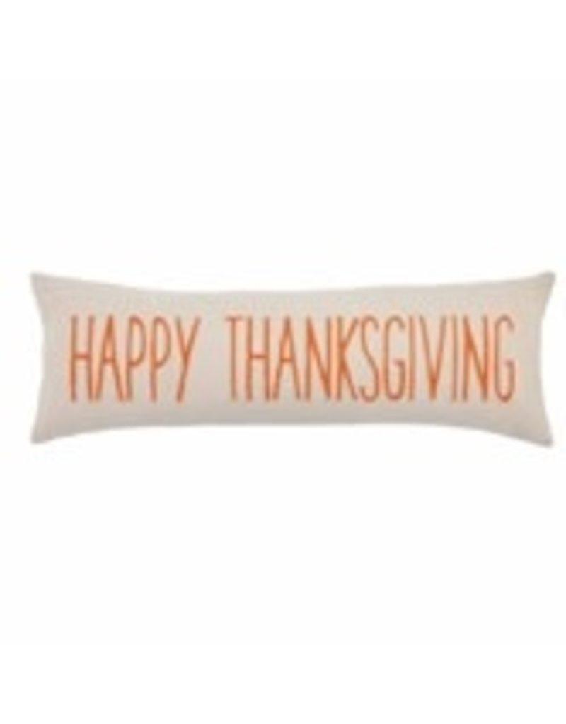 "Happy Thanksgiving Long Pillow 12""x16"" - 41600414"