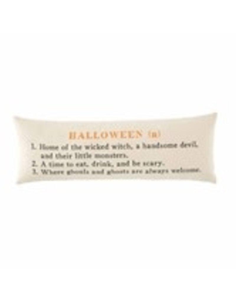 """Halloween Definition Pillow 12""""x35"""" - 441600368"""
