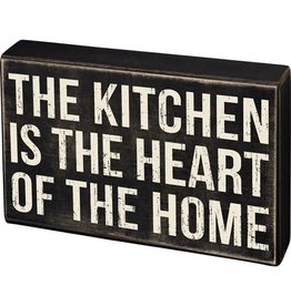 Box Sign - The Kitchen 107578