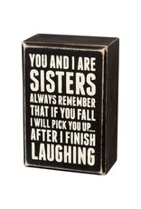 Box Sign - Sisters Always 19450
