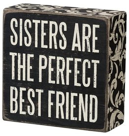 Box Sign - Sisters Are 21326