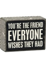 Box Sign - Everyone Wishes 23558