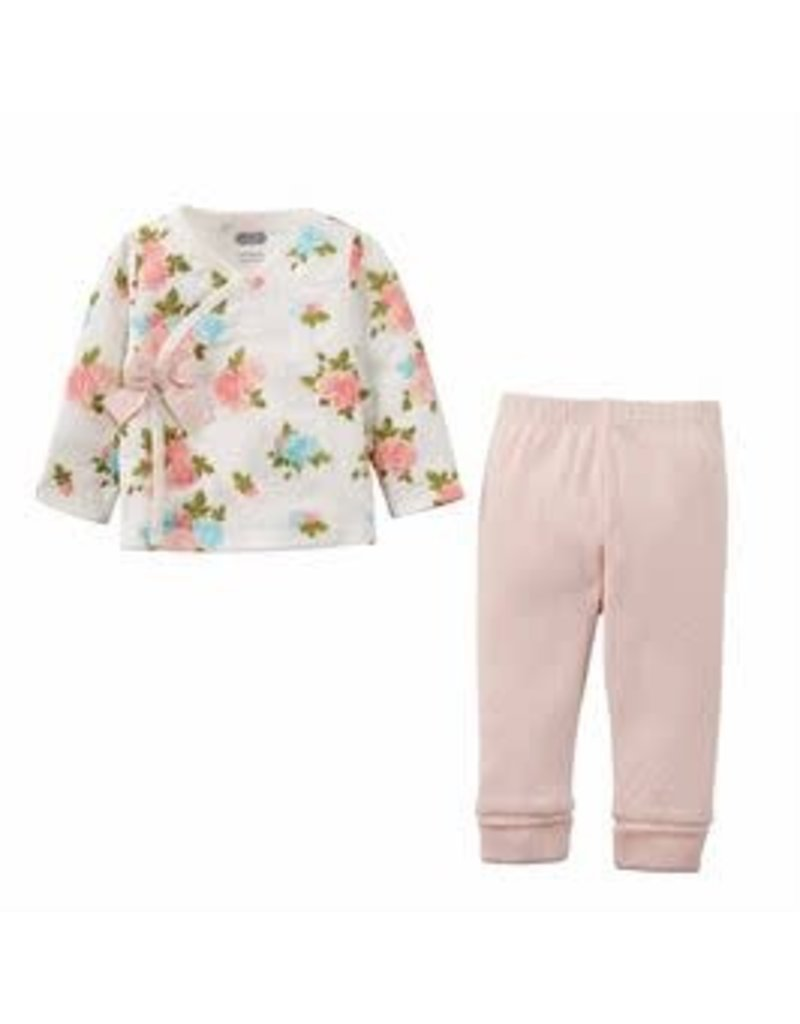 Muslin Floral Outfit Set 3-6 M - 11012060