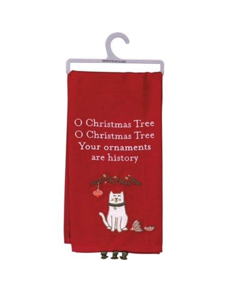dish towel - ornaments 106680