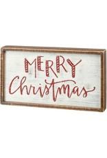 Box sign- Christmas 106722