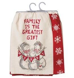 dish towel set - family 106907