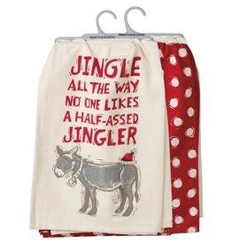 Dish towel set jingler 106908