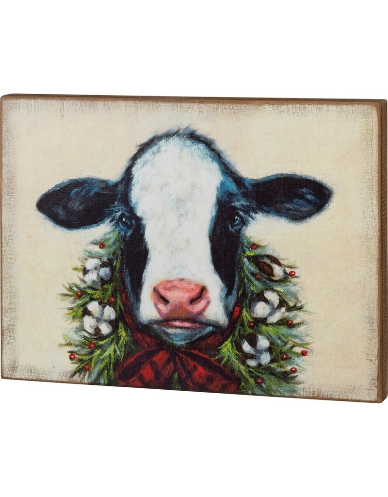 Box sign  Christms calf 106926