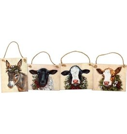Christmas farm ornament 106932