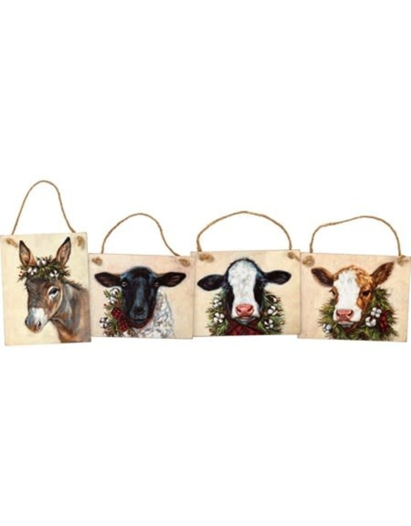 Christmas farm ornament 106932