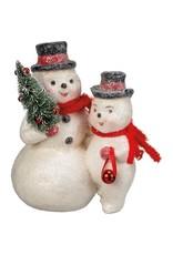 Snowman pair 107729